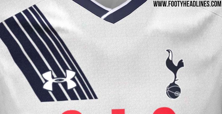Se filtra el diseño de la nueva camiseta titular Under Armour del Tottenham 7f7ba18fcd571