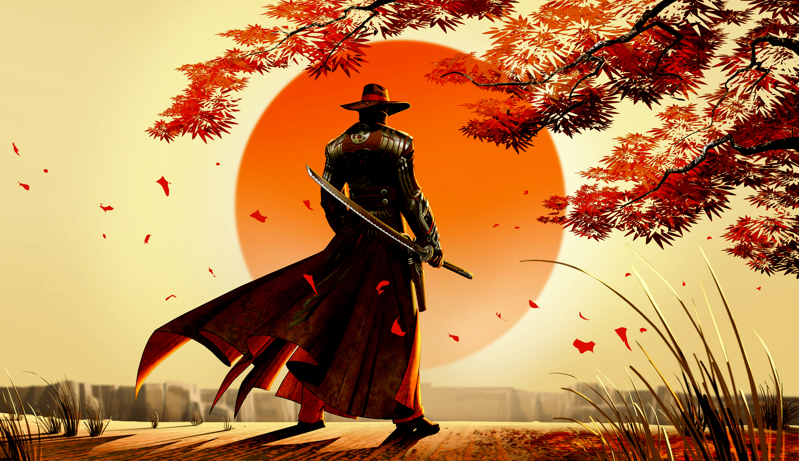 Red Steel 2 Western Samurai Game Wallpapers | Desktop ...