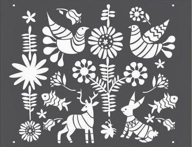 Inspired Whims Wallpaper Alternative 101 Stencils