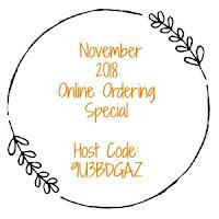 November 2018 Host Code