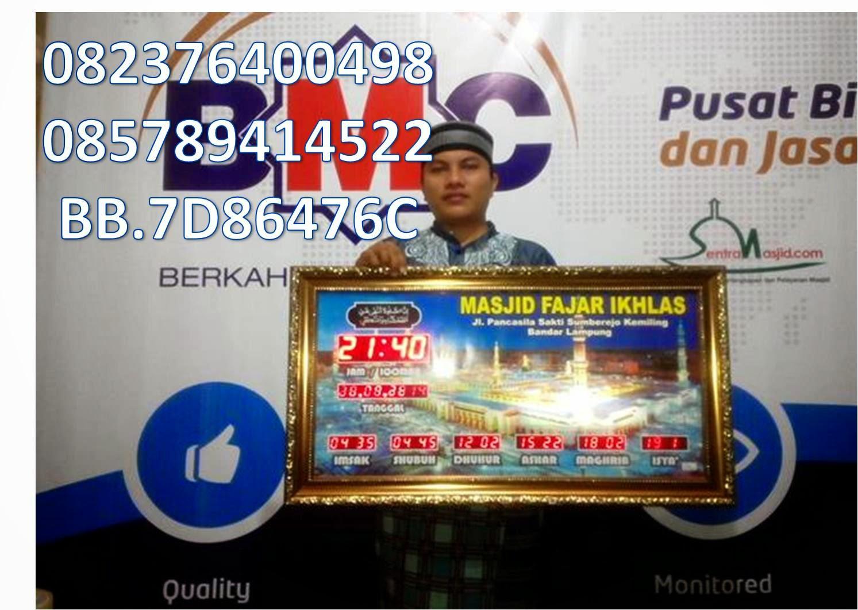 Jam Sholat Digital Majisd Distributor Karpet Yasmin