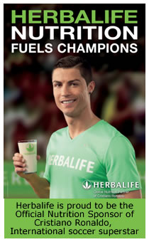 HERBALIFE NUTRITION FUELS CHAMPIONS !!