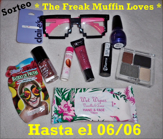 ¡Sorteo en The Freak Muffin Loves Makeup!