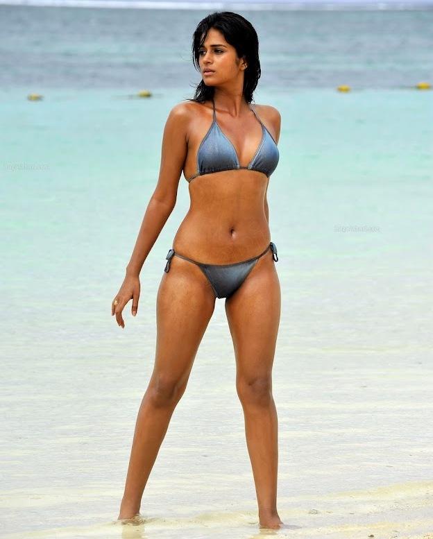 Shraddha Das Hot Bikini Photos - Its all about Indian film industry ...