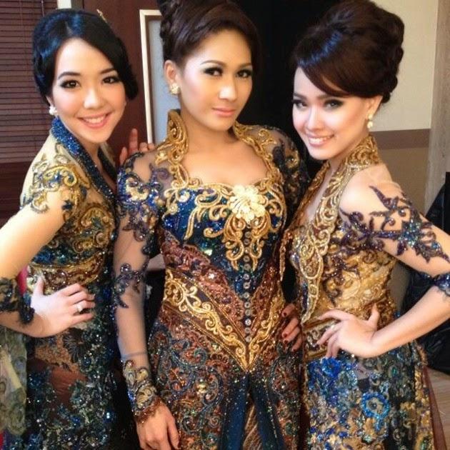 30 Model Baju Kebaya Sinden OVJ Trans7 Terbaru 2014 - Gambar Kata Kata ...