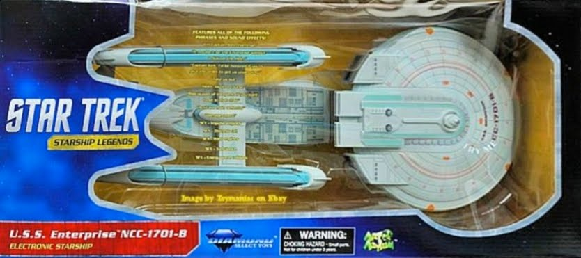 Diamond Select Star Trek Ships