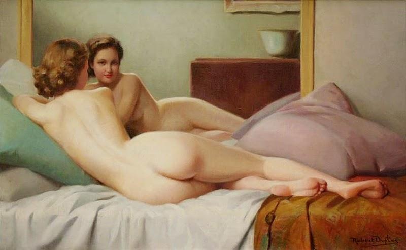 D.W.C. In The Bedroom - Robert Louis Raymond Duflos