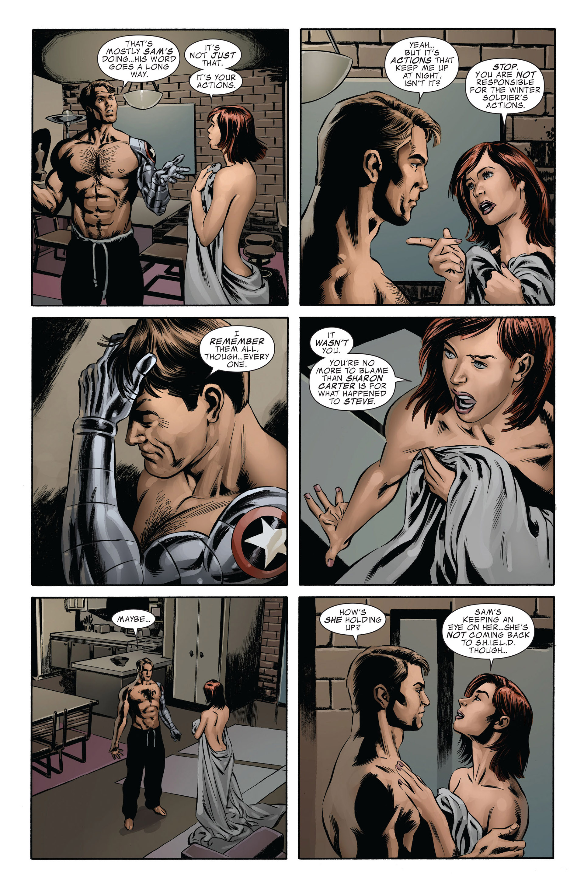 Captain America (2005) Issue #43 #43 - English 9