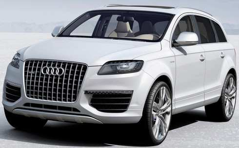 Mercisu Audi Q - How much is an audi q7