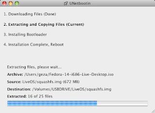 Unetbootin Install Screenshoot