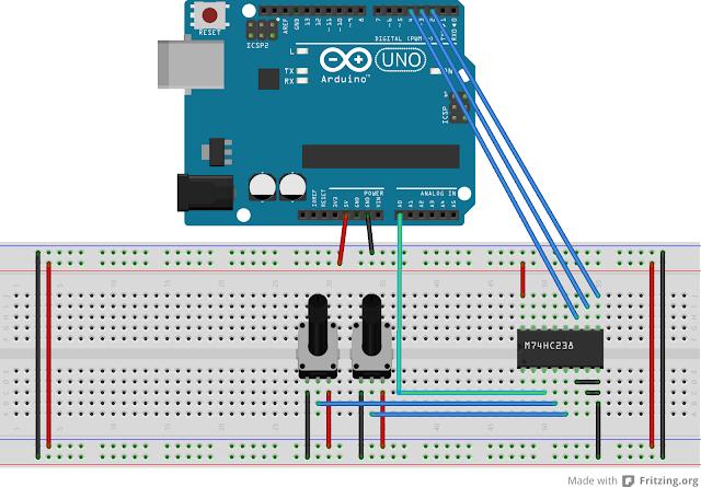 Multiplexer Breakout - 8 Channel 74HC4051 - ขาย Arduino