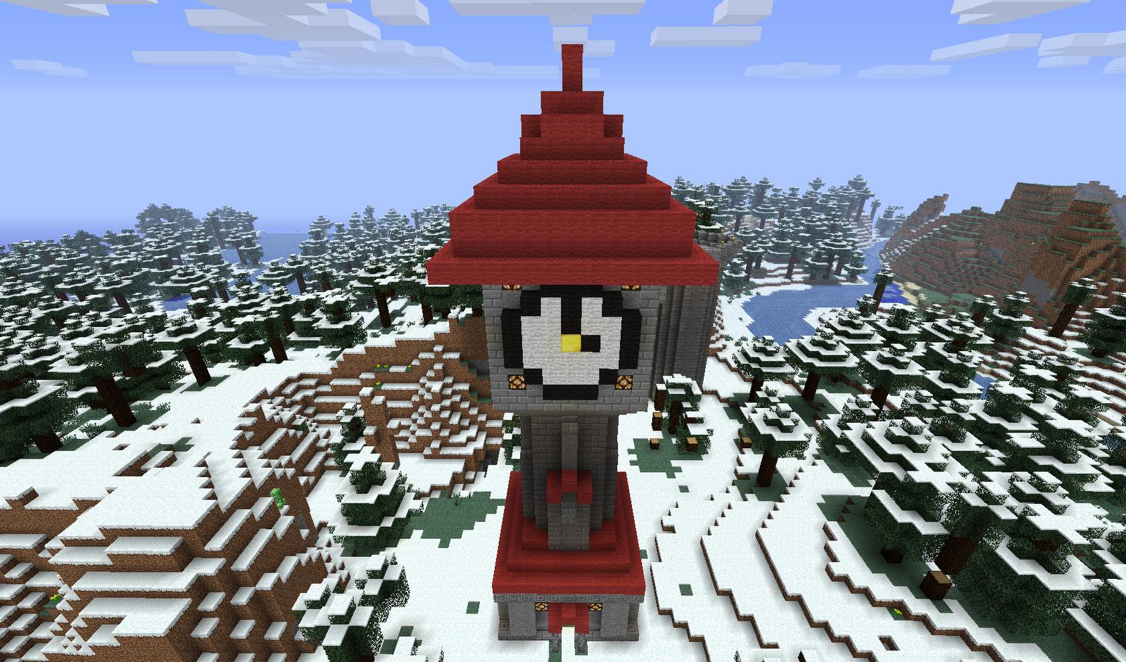 minecraft building ideas clock tower