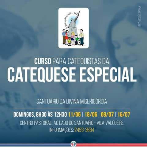 Curso para Catequistas da Catequese Especial