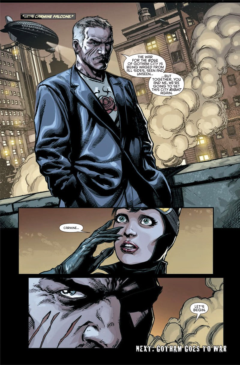 Carmine Falcone comic