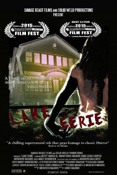 Poster Of Lake Eerie 2016 English HDRip Full Movie