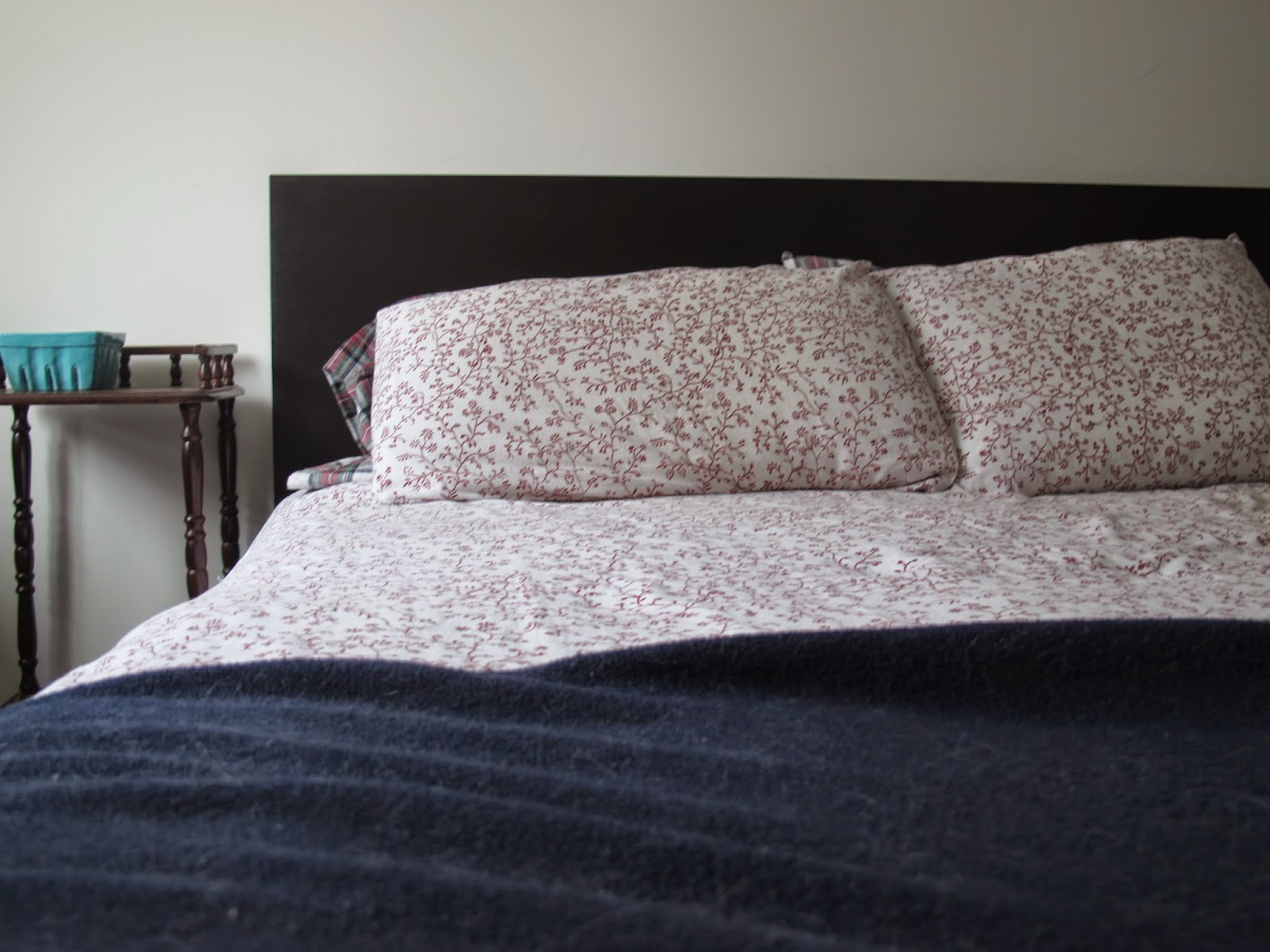 our little home: bed frame makeover