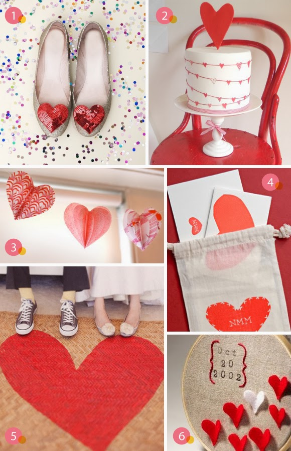 Memorable Wedding Suggestions For A Heart Wedding Theme