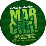 MARCHA MUNDIAL POR LA DESPENALIZACIÓN 2012
