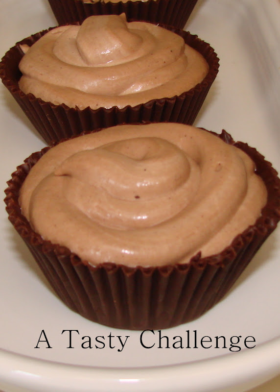 Coffee Cocoa Mousse in Edible Chocolate Cups