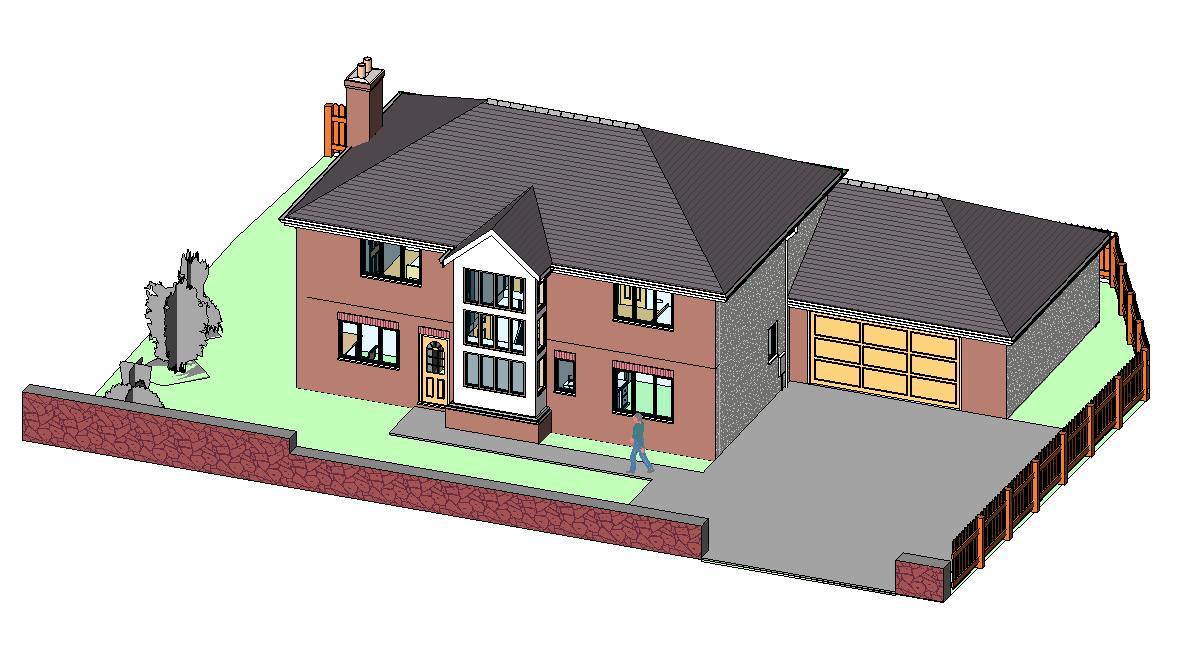 Plan maison garage double for Plan de maison contemporaine avec double garage