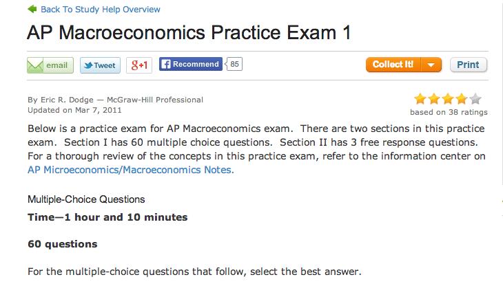AP Macroeconomics - jsher.myclassupdates.com