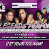 FEMALE LEGENDS WILL BE IN THE BUILDING DECEMBER 20-22nd