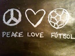 peace,love,futbol