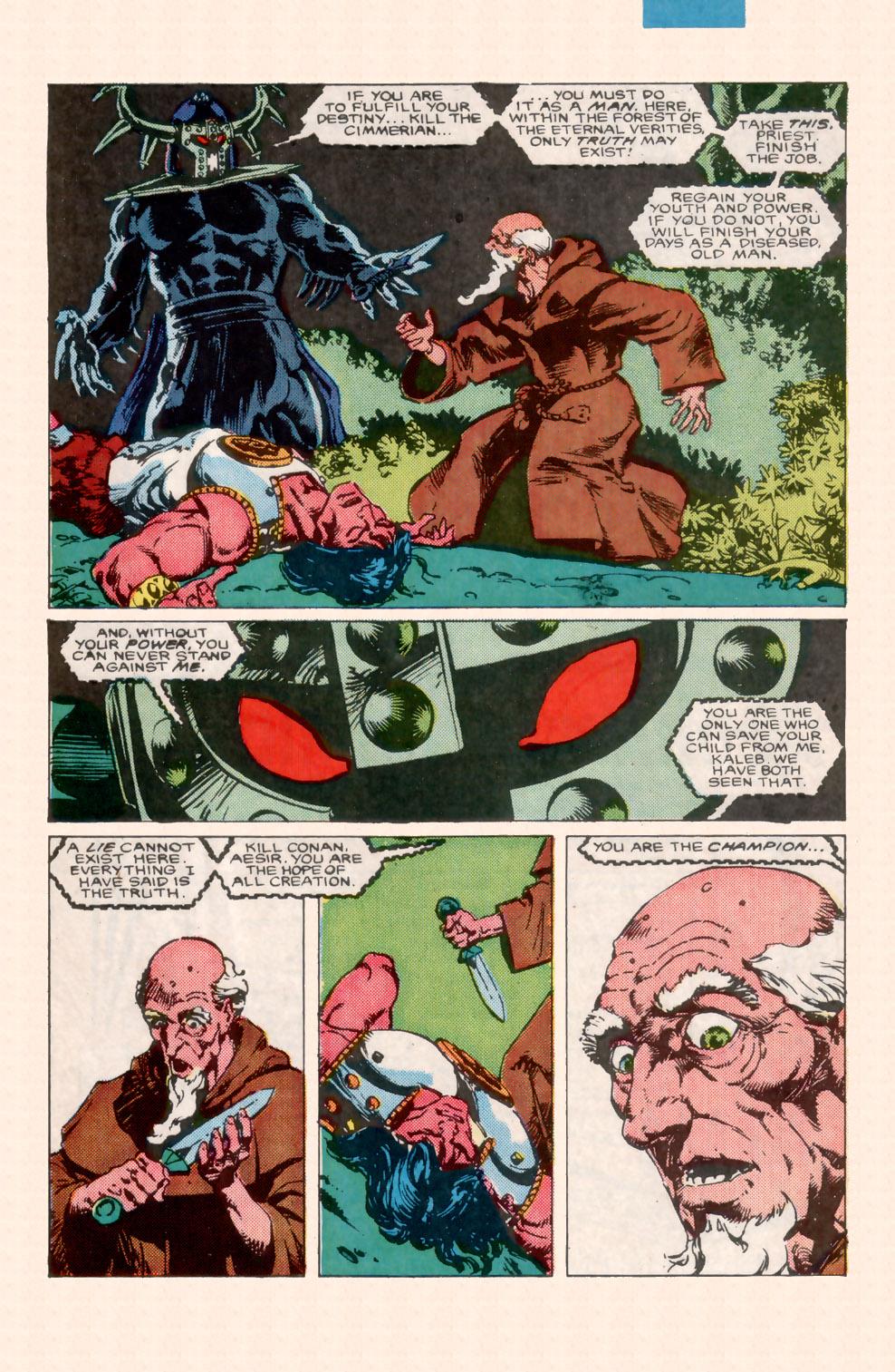 Conan the Barbarian (1970) Issue #199 #211 - English 20