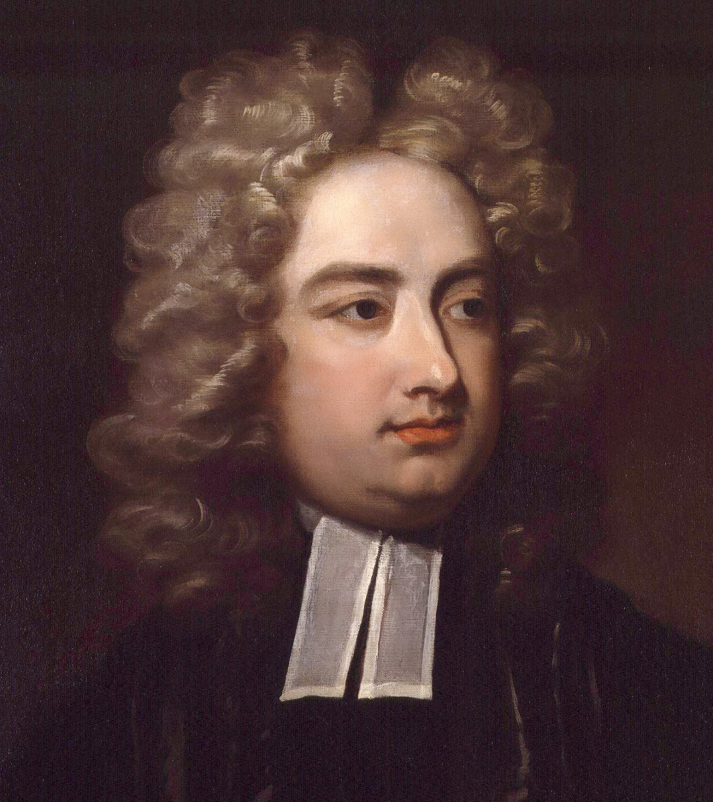 Pintura de Jonathan Swift
