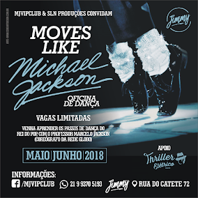 "OFICINA DE DANÇA ""MOVES LIKE MICHAEL JACKSON"""