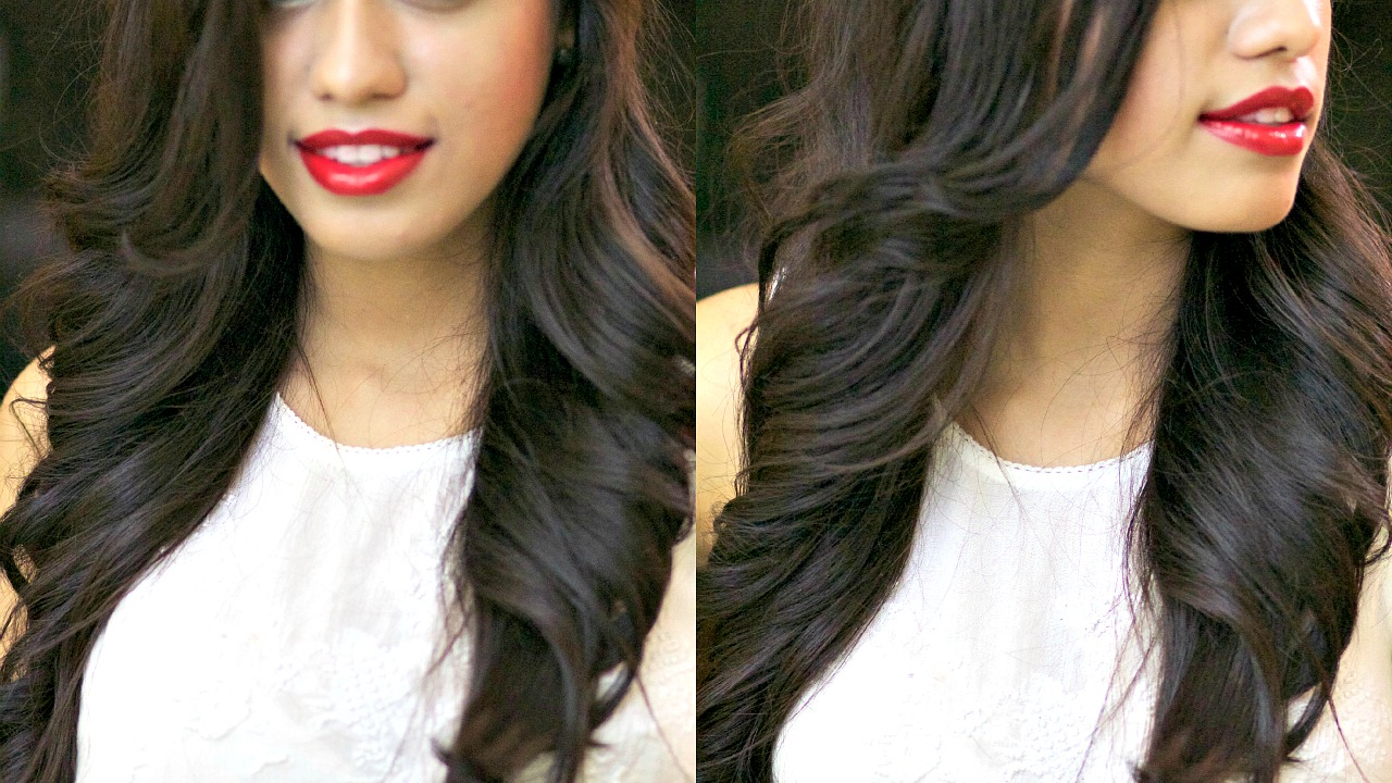 how to create loose waves with ghd