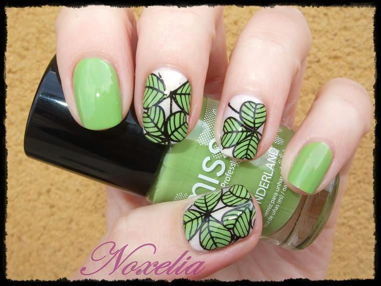 Noxelia: Stamping nail art: Colaboración con BornPrettyStore XLVII y ...