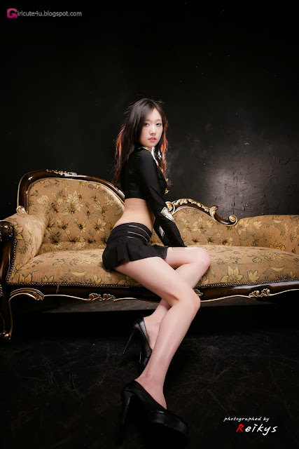 5 Hye Ji in black-Very cute asian girl - girlcute4u.blogspot.com