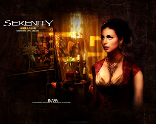 Morena Baccarin from Homeland Serenity Poster