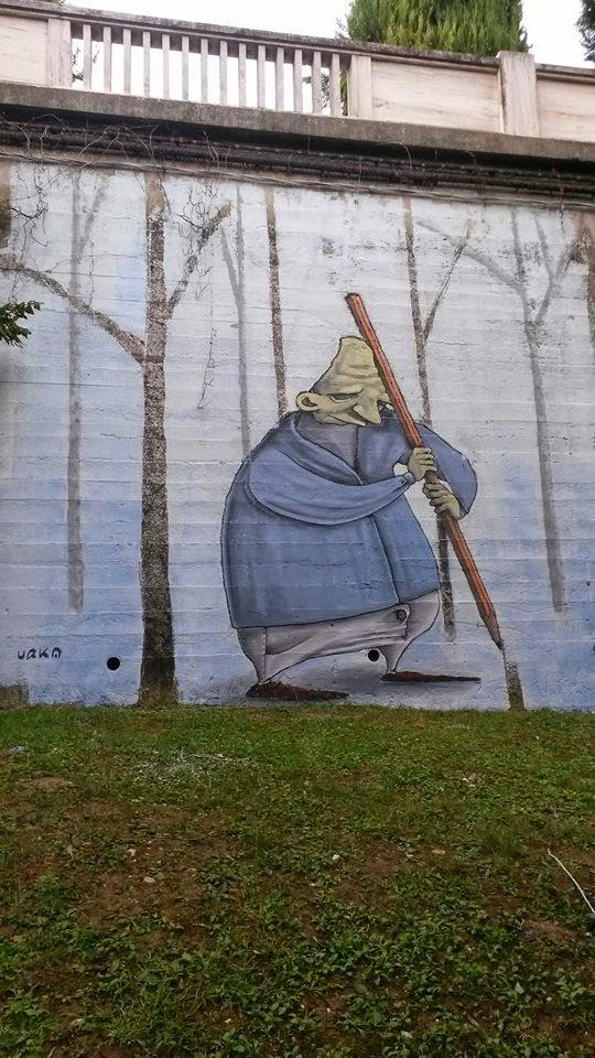 urka graffiti street art