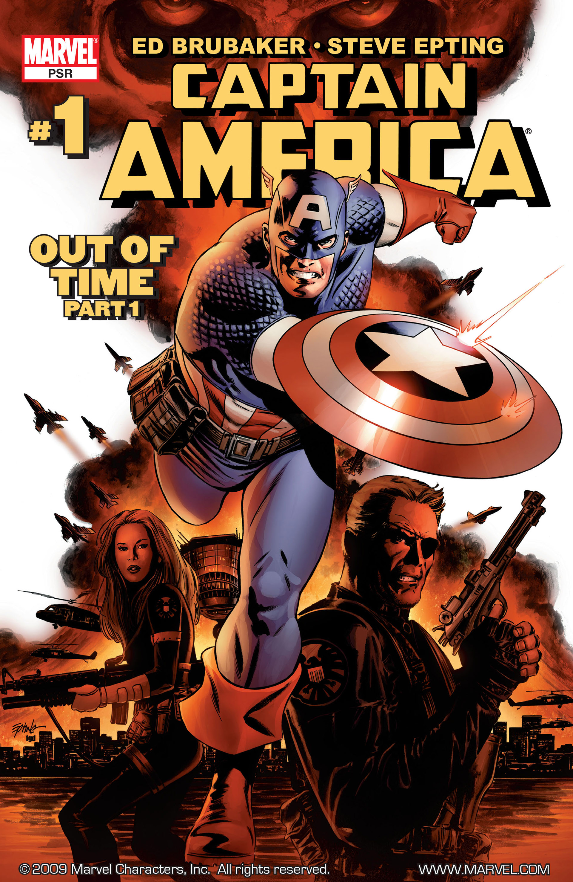 Captain America (2005) Issue #1 #1 - English 1