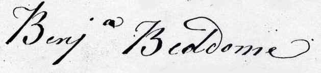 Benjamin Beddome