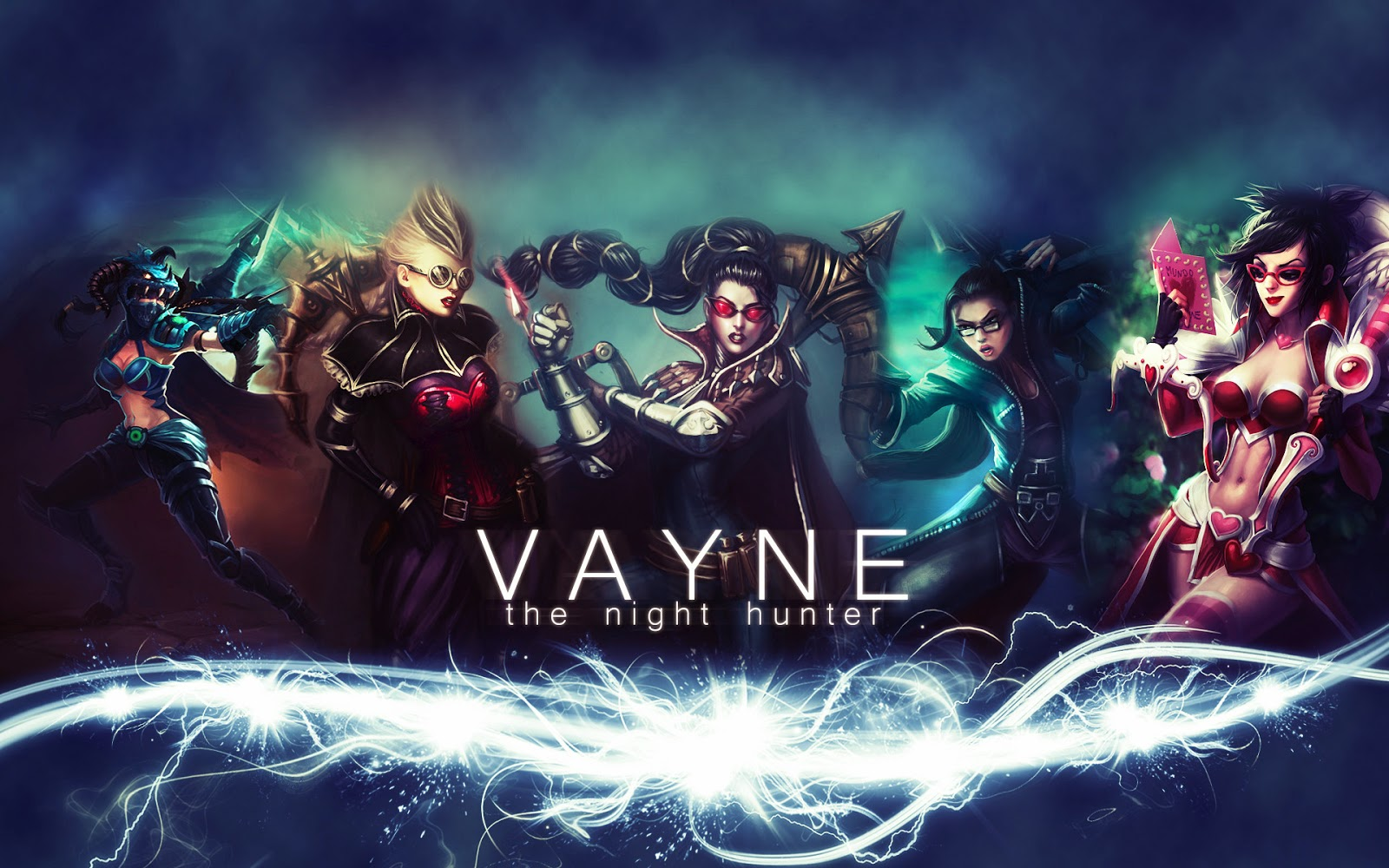 Vayne League of Legends Wallpaper