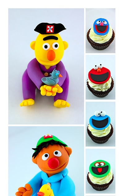 Sweet Art Cake Design Nz : Sweet Art Cakes by Milbree Moments: Bert & Ernie s great ...