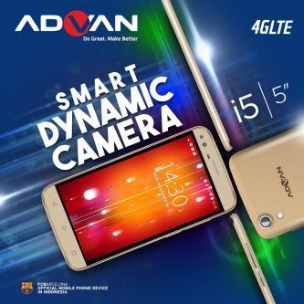 Advan I5 Dilengkapi 4G LTE