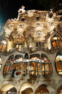 barcelone antoni gaudi maison batllo
