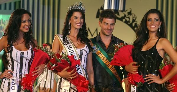 Miss Mundo Brasil World Brazil 2011 Winner Rio Grande do Sul Juceila Bueno