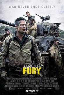 Fury (2014) English Movie Poster