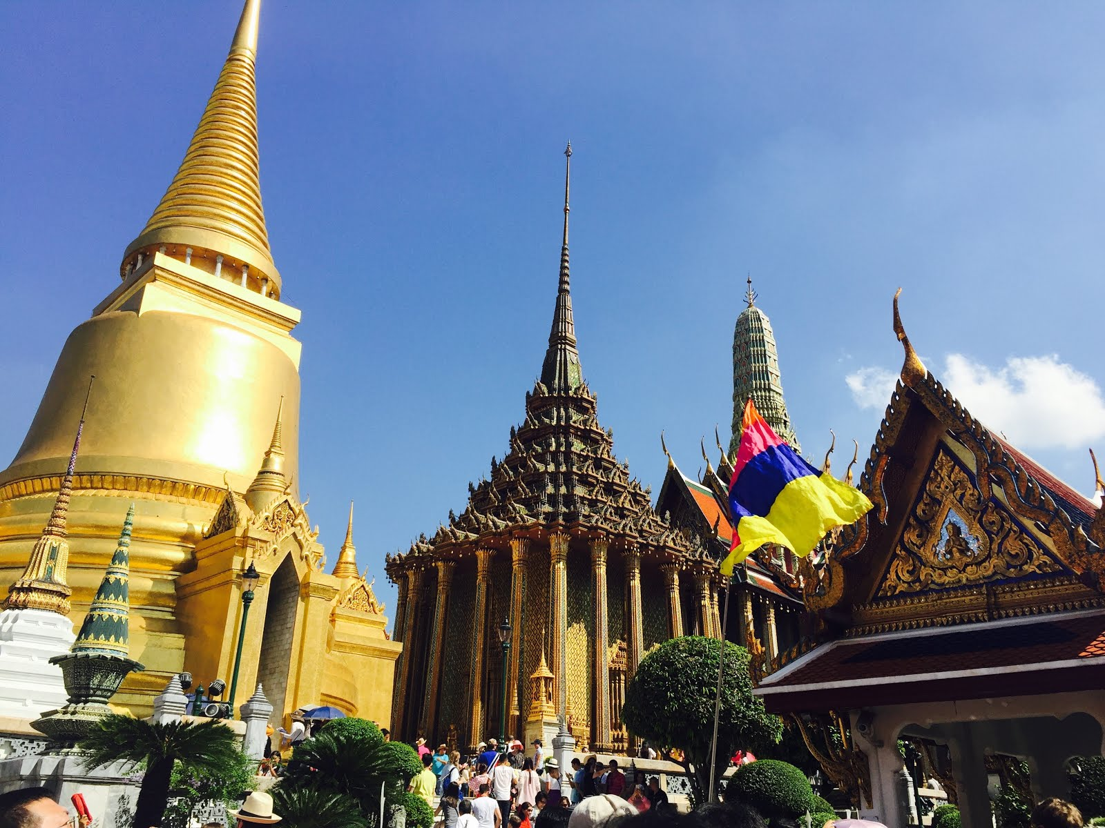 Views of the Grand Palace - What to see and do in Bangkok