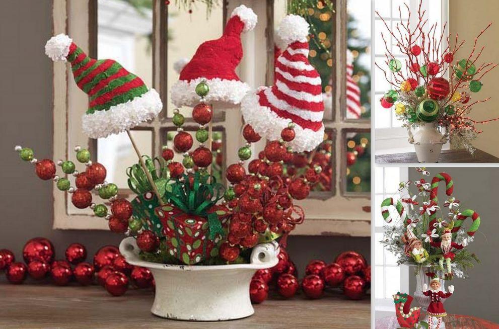 Centros de mesa de navidad caseros centro de mesa de navidad centro de mesa para navidad - Centros navidad caseros ...