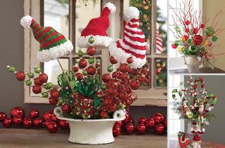 Centros de Mesa, Navidad 2015