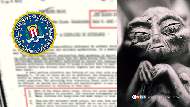 FBI Releases Documents Proving 'Aliens Have landed on Earth'