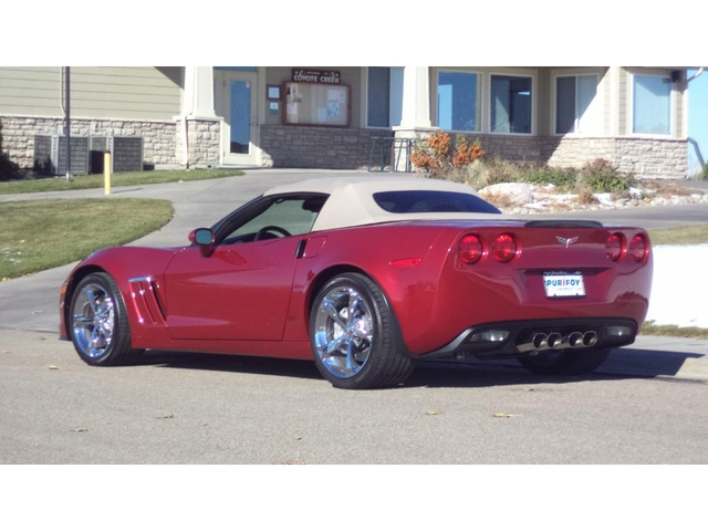 Stop By Today To See This Gorgeous Crystal Red Metallic Convertible Corvette  With Light Cashmere Interior. So Eye Catching! Add In The Throaty, ...