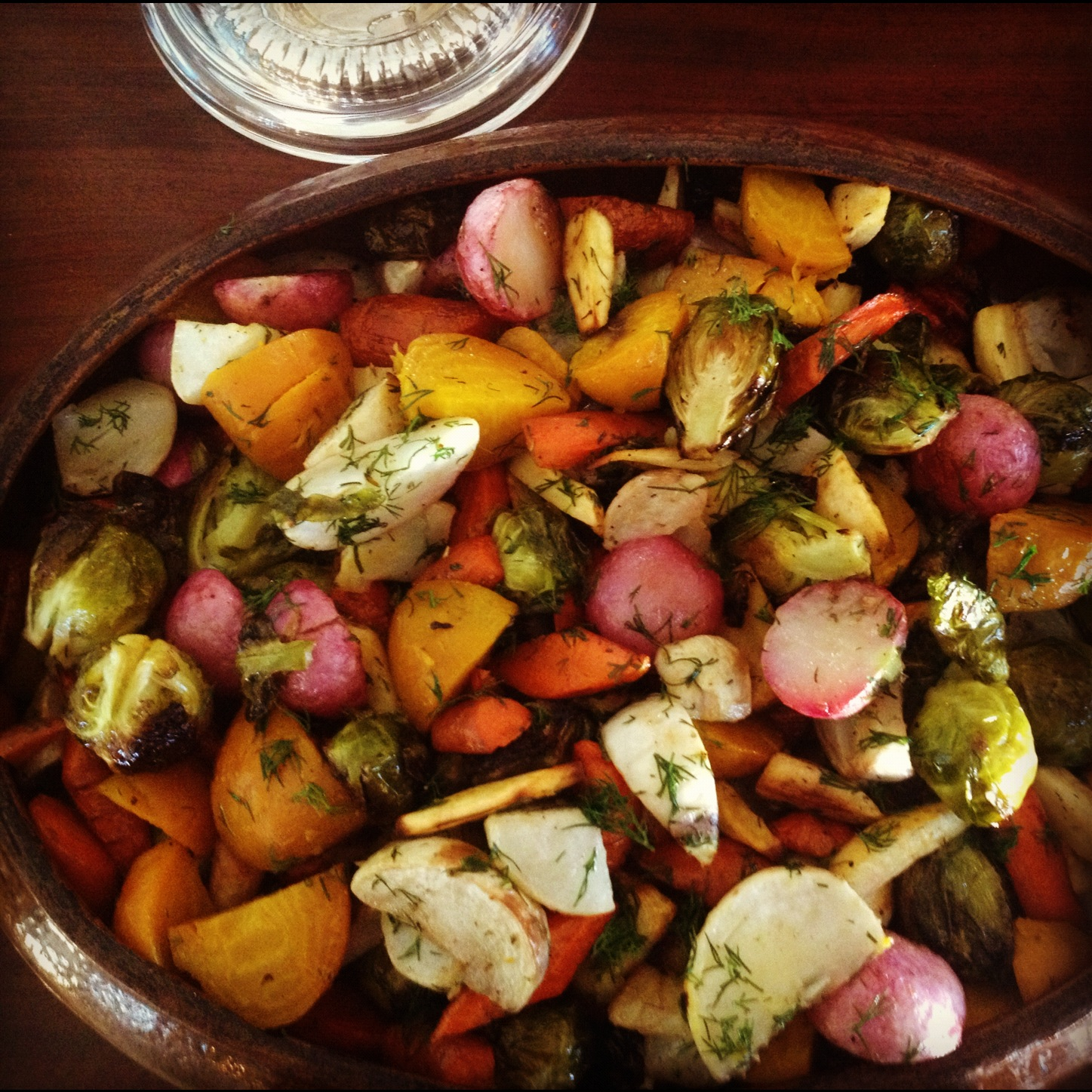 Roasted Winter Root Vegetables Recipe — Dishmaps