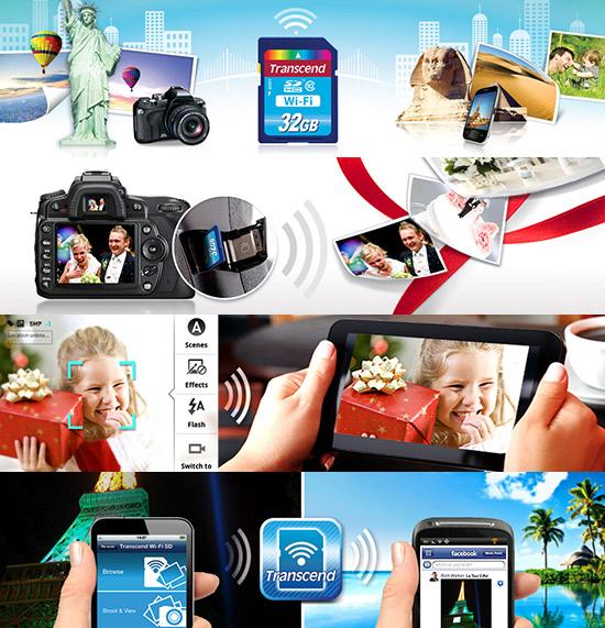 Transcend, memoria, sd, wi-fi, sd con wi-fi, nueva memoria